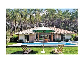4 bedroom Villa in Moliets-et-Maa, Nouvelle-Aquitaine, France : ref 5565410
