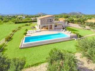 5 bedroom Villa in Pollenca, Balearic Islands, Spain : ref 5049329