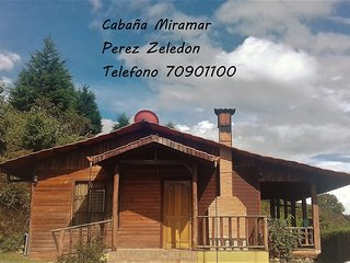 Cabaña de descanso en un lugar fresco entre el cerro de la muerte y San Isidro..