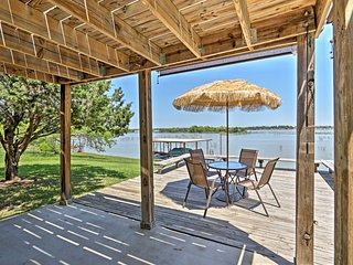 A-Frame House w/ Private Dock on Lake Granbury!