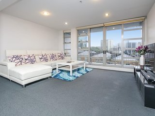 Winter specials - Spacious 3BR Apartment in the Heart of Auckland, Stunning view