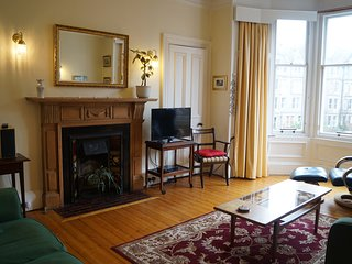 Beautiful 2nd floor, family friendly Marchmont apartment, central Edinburgh