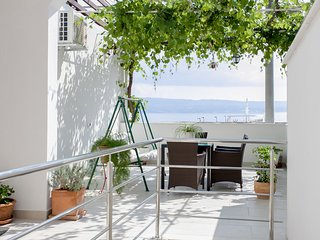 Apt Ivanisevic terrace sea view