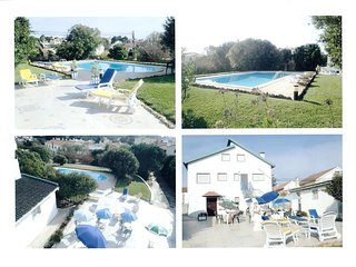 Mouros House for 16 persons with swimming pool | Ericeira