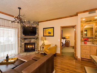 Located at Canyons Village Base w/ Free Shuttle, Resort Spa & Ski In/Out Access