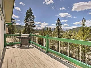 Truckee Home w/Deck+Gas Grill, Near Multiple Lakes