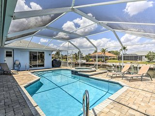 Cape Coral Canal Home w/ Dock & Pool - Near Gulf!