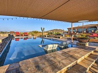 NEW!Luxury Phoenix Home-Game Room, Deck & Mtn View