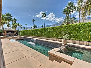NEW! 4BR Palm Springs Home w/Pool, Spa & Tiki Bar!