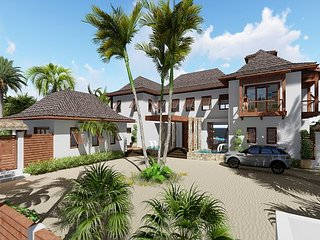 **UNDER CONSTRUCTION** Bali-inspired luxury compound 7 bedroom/6.5 bath