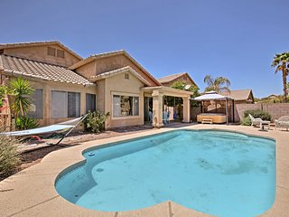Phoenix Area Home w/ Pool, Hot Tub & Game Room!