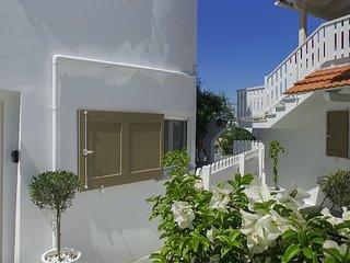 Almyrida sands-OMEGA- appartement 4pers 100m de la plage a pieds,vue mer