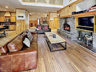 Spacious Home w/ Hot Tub, Game Room & Lovely Backyard - Near Beaches & Skiing