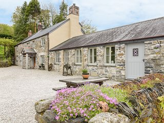 THE COTTAGE - COOMBE FARM HOUSE, stone cottage, with woodburner, off road