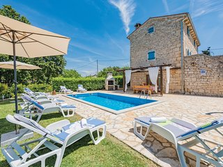 4 bedroom Villa in Pamići, Istria, Croatia : ref 5520539