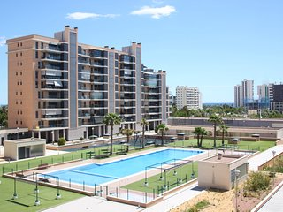 Playa, piscina y parking en San Juan playa Alicante