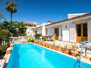 4 bedroom Villa in Can Picafort, Balearic Islands, Spain : ref 5537790