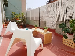 Duplex penthouse with terrace in heart of Ruzafa