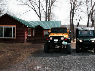 Newly Remodeled Historic Log Cabin on Banks of Horse Creek