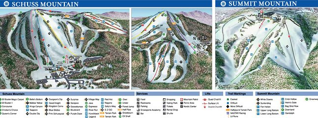 3 Alpine Skiing and Snowboard terrain parks