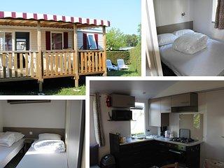 Location Mobil-home 4-6 personnes aux Charmettes 4 etoiles en Charente-Maritime