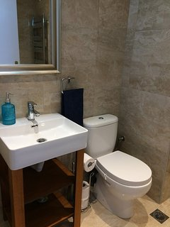 All new bathroom fittings