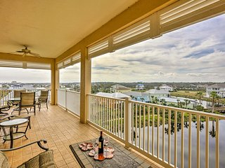 NEW! Oceanfront Palm Coast Resort Condo w/ Pool!