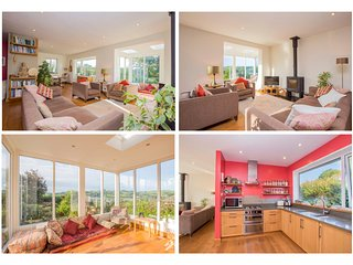 Totnes, FAB contemporary peaceful 2 bed detached bungalow, deck and views