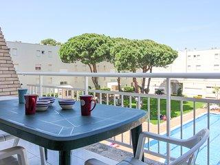 Apartmento con terraza *Riells Playa Ref.243027