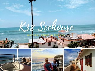 ★Available Labor Day★Oceanfront ★Rooftop★  K38 Seehouse★