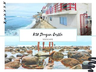 NEW! K38 Oceanfront Dragon Castle - SEESCAPE