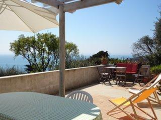 Maison de vacances, face à la mer, plein sud, sans vis à vis, jardin et terrasse