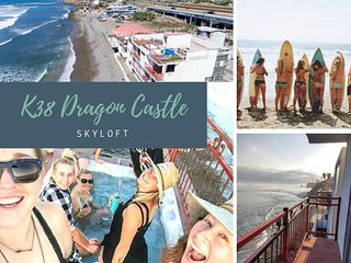 NEW! K38 Oceanfront Dragon Castle - SKYLOFT