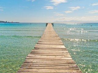 LOLI :) Encantadora villa para 6 personas en Puerto de Alcudia. AC y WiFi gratis