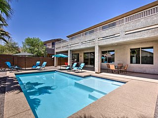 NEW! Modern Maricopa Grand Home w/ Backyard Oasis!