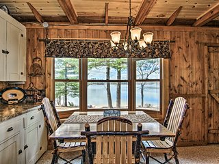 Cozy Cabin w/Boats, Fire Pit & Deck On Little Lake