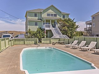 NEW! Oceanfront Waves Home w/Pool & Game Room!