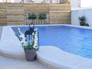 Chalet con piscina privada en Ciudad Quesada