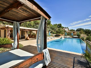 6 bedroom Villa in Sant Antoni de Portmany, Balearic Islands, Spain : ref 562451