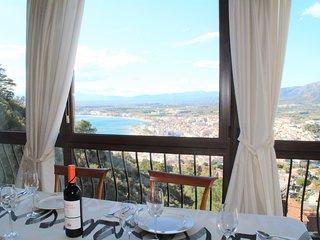Apartamento con vistas al mar de 3 habitaciones para 6 personas en Roses