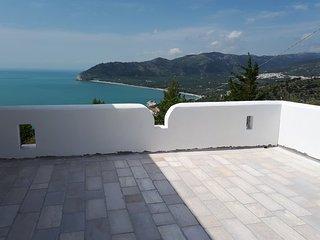 Villa Gargano, monolocale nuovo con vista mare