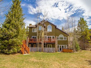 Brooks Hill Lodge Home Hot Tub Breckenridge Colorado Vacation Rental