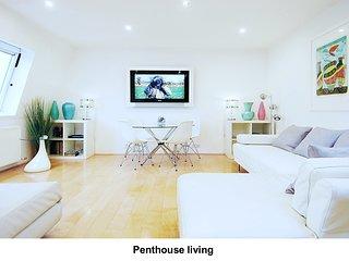 Beautiful Modern Luxury Designer Penthouse on Top Floor