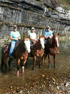 bring your own horse and ride the Old River Trail, starting at Ponca