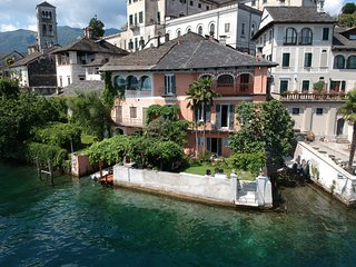 Exclusive 17th C Villa on the Island of San Giulio with boat and mainland garage