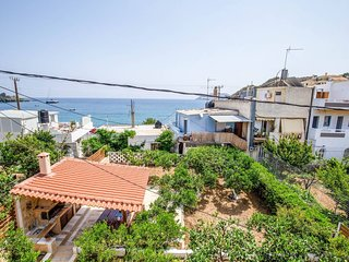 Discover the Charm of Crete from this Agia Pelagia Blue House Apartment!