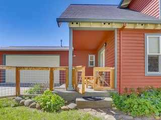 NEW LISTING! Dog-friendly house w/deck & entertainment-short drive to downtown