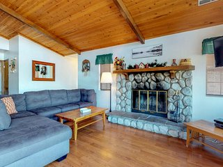 Dog-friendly home with a pool table, close to Big Bear Lake Village!