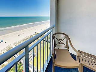 Oceanfront Resort 1BR w/ Pools, Hot Tubs & Lazy River - Near Boardwalk