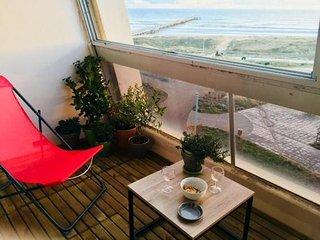 Appartement 6 personnes face mer